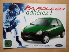 FORD KA ROLLER 1998 French Mkt sales brochure leaflet