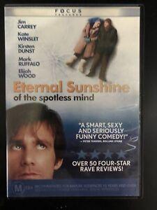 Eternal Sunshine Of The Spotless Mind DVD Jim Carrey Kate Winslet Kirsten Dunst