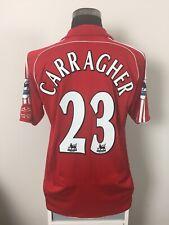 CARRAGHER #23 Liverpool Home Football Shirt Jersey 2006/07 (L)