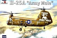 Amodel 72147 - 1/72 - H-25A 'Army Mule' USAF Helicopter scale plastic model kit