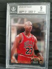 Michael Jordan 92 93 Topps Stadium Club Graded BGS 9! WOW! * Investment, Rare!