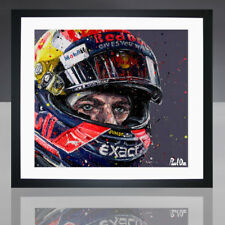 Red Bull Racing Formula 1 Max Verstappen Framed Print Paul Oz