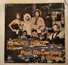 """PAUL Mc CARTNEY & WINGS, THE BEATLES.  SINGLE 7"""" JUNIOR´S FARM"""