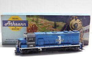 HO Scale Athearn Custom Boston & Maine GP-9 DUMMY Diesel Locomotive Train #1783