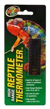Zoo Med Hi Range Strip Thermometer Reptile Snake. Free Shipping In The Usa