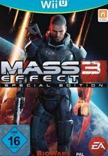 Nintendo Wii U Mass Effect 3 alemán como nuevo