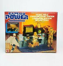 Vintage ☆ CAPTAIN POWER Trans-Field Communication Station ☆ MIB Mattel BOXED 80s