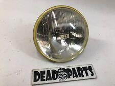 Harley CEV NOS 6 volt headlight headlamp Aermacchi beam bulb