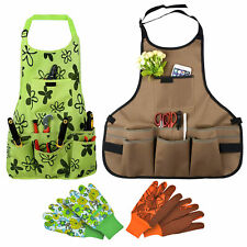 More details for oxford cloth work apron garden for home waterproof, free 1pair gloves