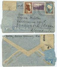 34068 - Argentinien - Beleg - Rosario 8.12.1939 nach Donauwörth - Zensur