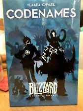 EXCLUSIVE RARE NIB Blizzard Codenames Boardgame Warcraft Overwatch Diablo
