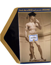 Statue of David Diploma Graduation Card - Papyrus Humor Funny RARE