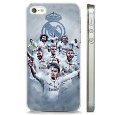 Ronaldo Real Madrid Team CLEAR PHONE CASE COVER fits iPHONE 5 6 7 8 X