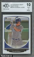 2013 Bowman Draft Picks Aaron Judge Yankees RC Rookie BCCG 10
