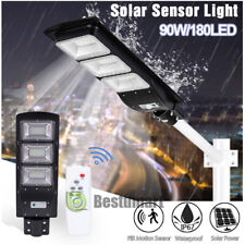 80000LM Outdoor LED Street Light 90W Commercial IP68 Dusk to Dawn Shoebox Lamp