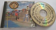 "PRINCE ""AROUND THE WORLD IN A DAY"" LTD EDITION GERMAN GOLD DISC PRESSING CD"