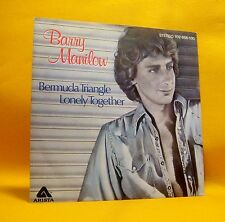 "Vinyl 7"" Single 45 Barry Manilow Bermuda Triangle 2TR 1980 Pop (MINT) !"