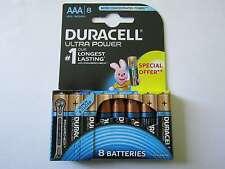 8x AAA Ultra Power Alkaline Batterie Duracell AR2088