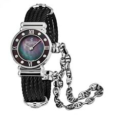 Charriol Women's St Tropez Black Stainless Steel Quartz Watch 028SBD1545559