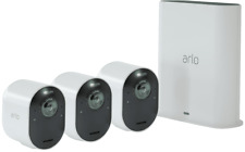 NEW Arlo VMS5340-100AUS Wire-Free Ultra HD 4K Triple CCTV System