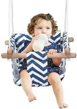 Babyschaukel Hängender Schwing Sitz Kinderschaukel Hängesessel Schaukel  Holz