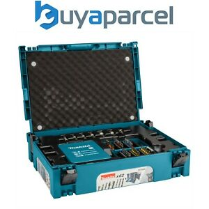 Makita B-53908 62 Piece Drill Screwdriver Accessory Set in Makpac Tool Case Box