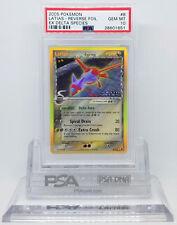 Pokemon EX DELTA SPECIES LATIAS #8 REVERSE HOLO FOIL CARD PSA 10 GEM MINT *