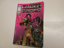 CYBER FORCE  4 . COMICS . IMAGE/SEMIC..1996  ..TBE