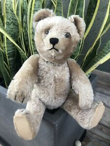 "Vintage Schuco 17"" Mohair  Yes / No Teddy Bear"