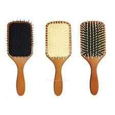 Professional Wooden Large Paddle Hairbrush Hair Massage Salon Styling Comb Brush