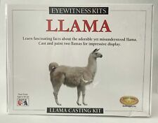 Eyewitness Kits Perfect Cast Llama Cast, Paint, Display and Learn Craft Kit
