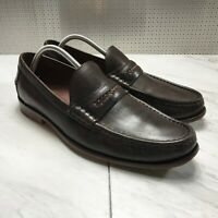 Cole Haan Grand OS Men's Brown Leather Penny Loafers Shoes Size 10.5 M