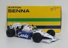 MINICHAMPS 1/18 MODELLINO AUTO F1 AYRTON SENNA TOLEMAN HART MONACO 1984 DIE CAST