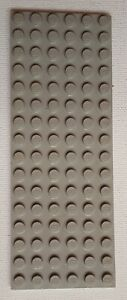 Lego  GREY Thin Base Plate 16 x 6 Building Baseplate