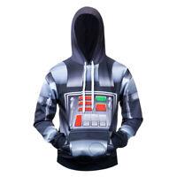 Star Wars Darth Vader COS Costume 3D Printed Premium Sweatshirt Pullover Hoodie