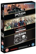Jackass - The Movie Collection (3 Films) DVD Neue DVD (PHE1454)