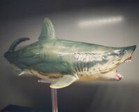 PNSO Megalodon Model Figure Prehistoric Ocean Animal Base Toy Collector Decor
