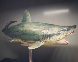 PNSO Megalodon Model Figure Prehistoric Ocean Animal Base Toy Collector Decor