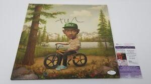 TYLER THE CREATOR signed auto WOLF vinyl LP Goblin ODD FUTURE OFWGKTA JSA