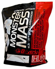 BEVERLY NUTRITION - MONSTER MASS 5 KG - CHOCOLATE - CARBOHIDRATO - GAINER