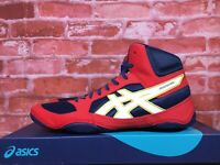 ASICS SNAPDOWN 2  STATE CHAMP RED/WHITE/BLUE MEN'S WRESTLING SHOE 1081A024-400