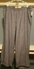 "Gap womens denim Pants .wide leg. XXL. Waistline 42"". Inseam 40"""