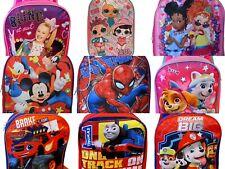 "Boys Girls School Backpack Book Bag Kids Children Cartoon Toddler 15"" Gift Toy"