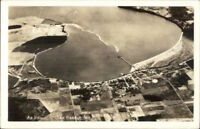 Oak Harbor WA Aerial View Real Photo Postcard