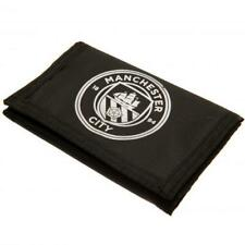 Manchester City F.C. Official Nylon Wallet with Crest (  x52nywmcrt )