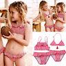 Toddler Kids Baby Girl Bikini Swimwear Swimsuit Bathing Suit Swimming Beachwear