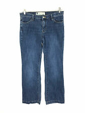 Gap Long and Lean Stretch Low Rise Jeans Medium Wash Womens 8 Actual 30 x 29.5