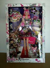 New Mattel Tokidoki 10th Anniversary Barbie Pink Hair Black Label