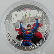 Canada 2015 $20 Superman Action Comics #28, 1 oz. 99.99% Pure Silver Proof Coin