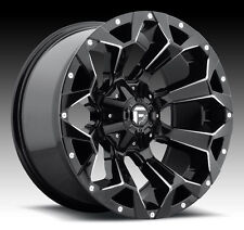 """20"""" Fuel D576 Assault Gloss Black Wheels Rims 5x5.5 5x150 Dodge RAM Tundra"""